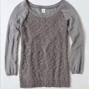 ⭕️SOLD⭕️Anthro   Yellow Bird Bramble Knit Pullover